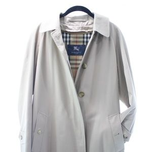 BURBERRY LONDON UNISEX TRENCH COAT SIZE M